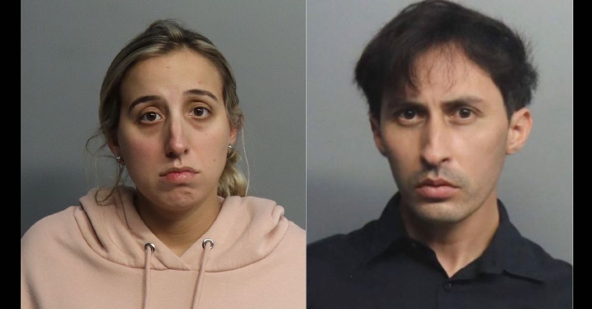 Brittiny Lopez-Murray (left) and Daniel Fernandez (right) appear in images released by the Miami Dade Corrections & Rehabilitation Center.