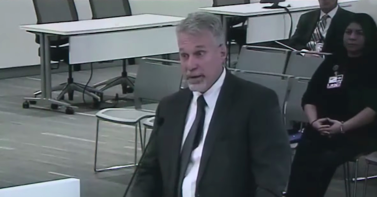 Former Cuyahoga County Jail director Ken Mills