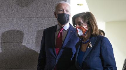 President Biden and Nancy Pelosi