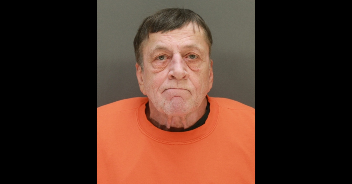 Booking photo of Gregory Paul Ulrich