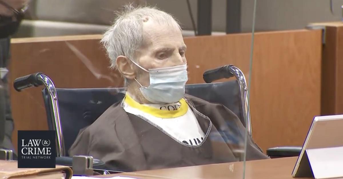 Robert Durst at sentencing