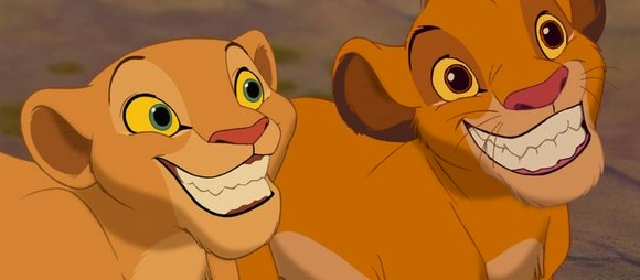 lion king smile