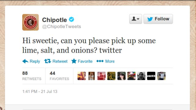 Chipotle Sweetie