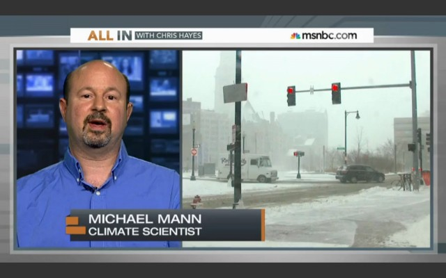 Michael Mann Climate Scientist