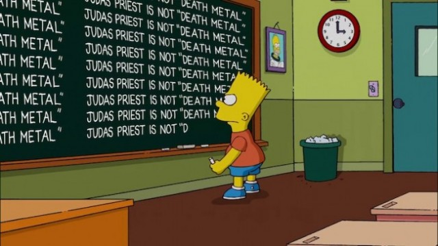 simpsons metal