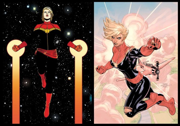 Captain Marvel Costume History The Mary Sue It is not affiliated with marvel entertainment, llc and is an unofficial community owned and operated by dedicated fans. captain marvel costume history the