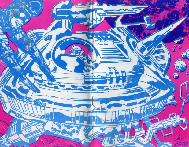 Jack Kirby's cover for the 1970 program