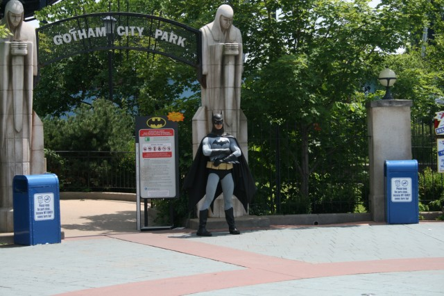 Batman guarding Gotham (1)