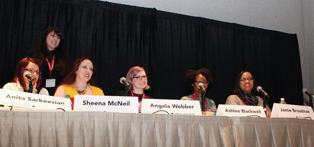 Building Feminist Community 101 panel at Geek Girl Con 2014