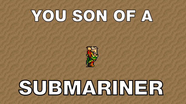 Son of a - submariner?