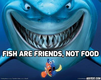The sharks in The Little Mermaid did not take the pledge.