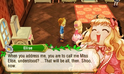 Story of Seasons - Miss Elise