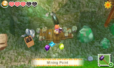 Story of Seasons - Gems Minerals