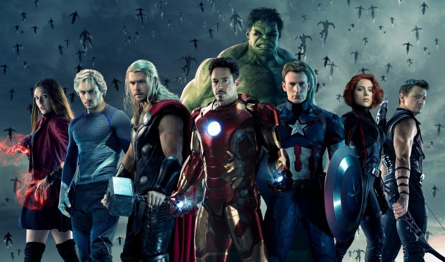 Avengers Age of Ultron Team Poster
