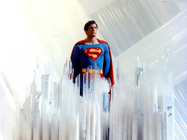Superman Movie Fortress of Solitude Crystal Panel