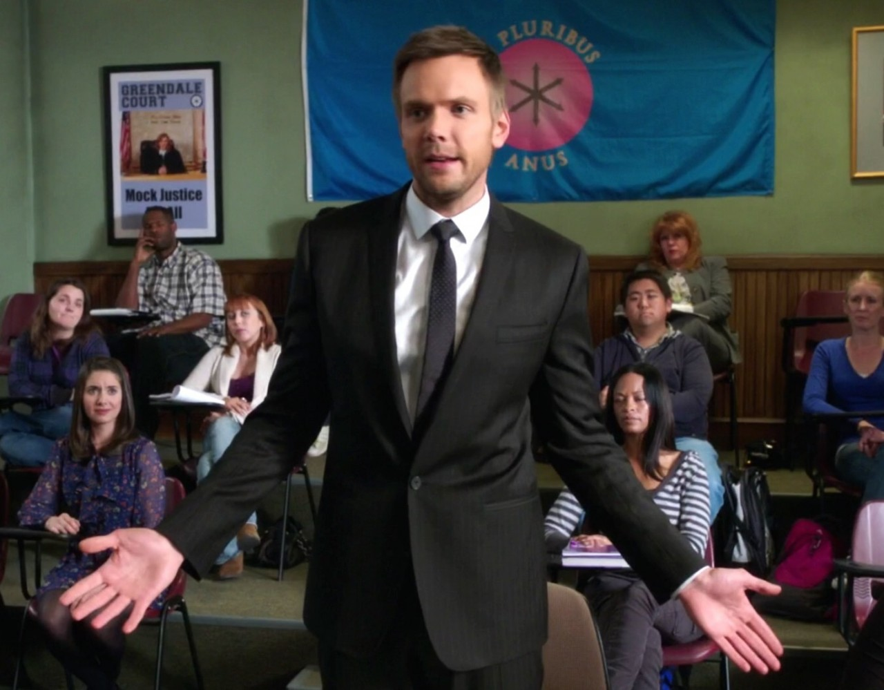 Jeff Winger in Community