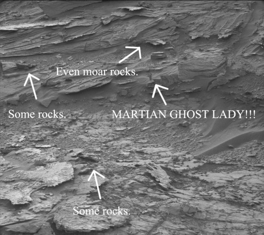 martian ghost lady