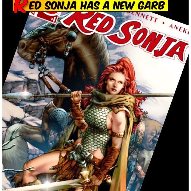 red sonja chainmail tank
