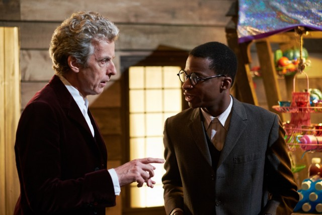 Doctor Who S9 Ep10 Face The Raven