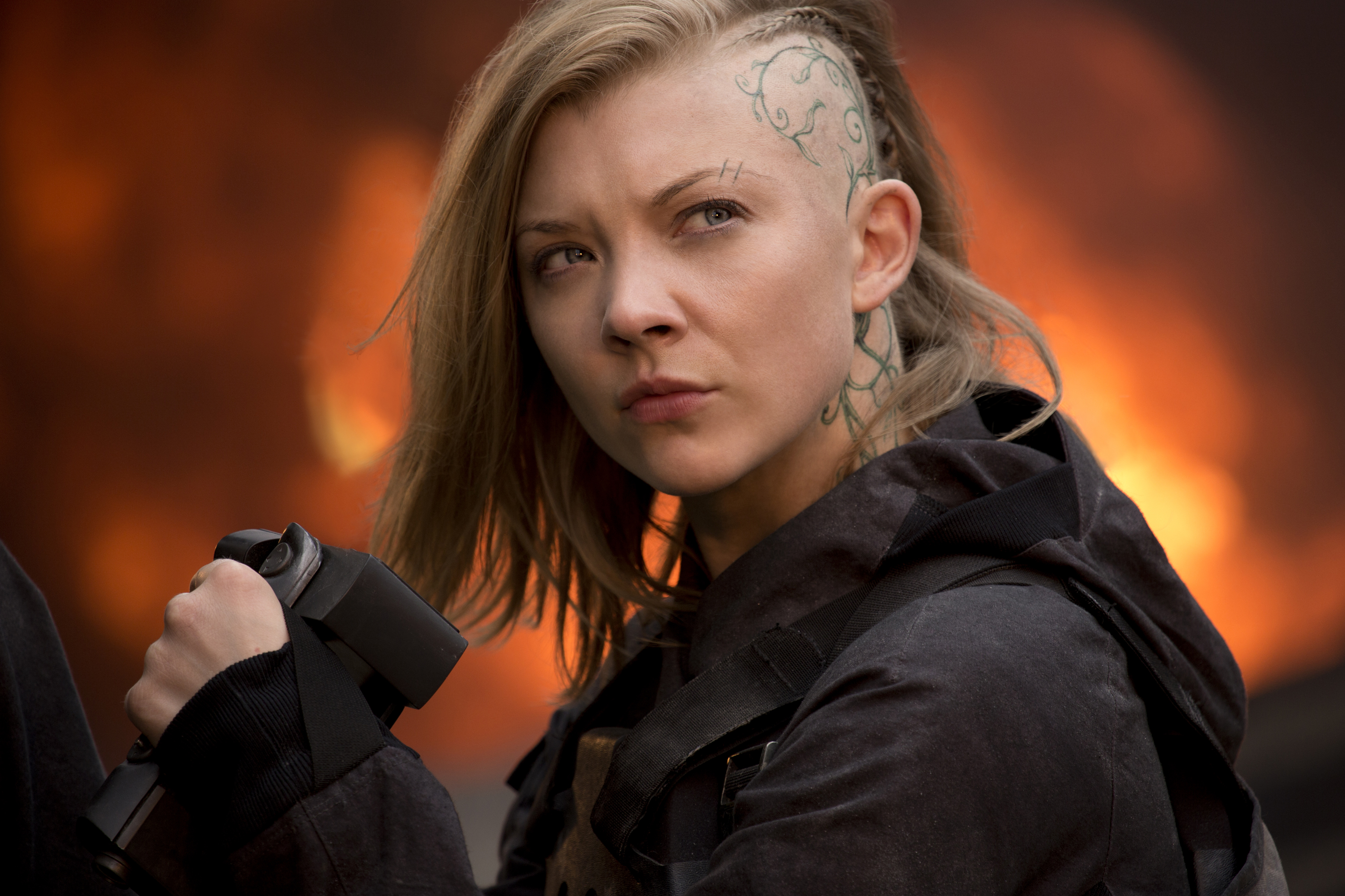 Natalie Dormer On Hunger Games Cressida Female Empowerment The
