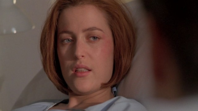 Scully in hospital
