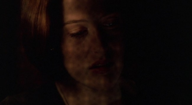 Scully at confession