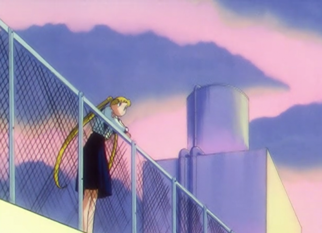And if anime has taught me anything, it's that nothing bad EVER happens on school rooftops.