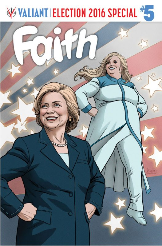 FAITH #5 – Cover by Paolo Rivera