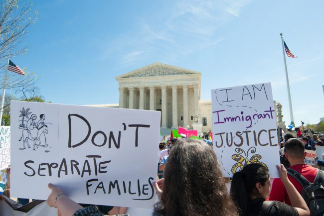 Immigrants-Protest-Separate-Families