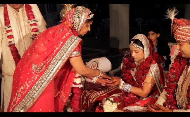 Indian marriage from a suitable girl documentary