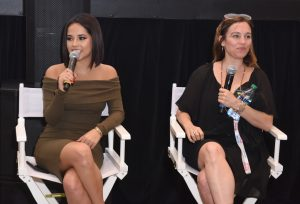 Becky G and Amy Jo Johnson at the 3rd Annual Bentonville Film Festival