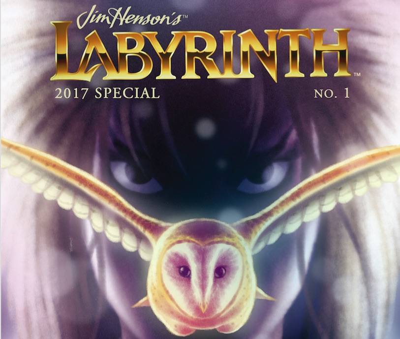Labyrinth comic cover