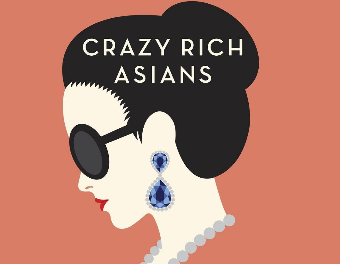 Crazy Rich Asians book cover from Penguin Random House