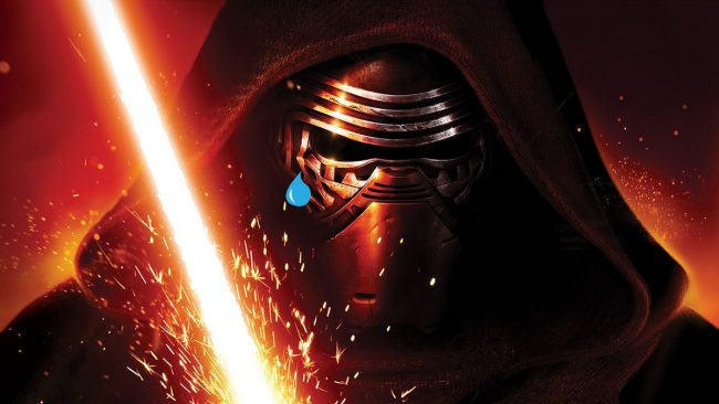 kylo ren emo the force awakens the last jedi