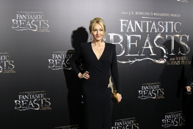 Rowling at Premiere