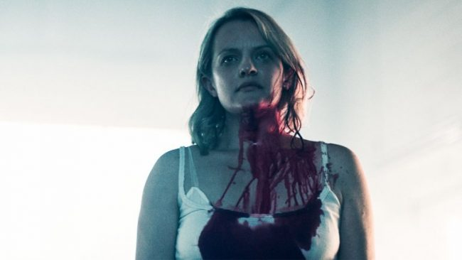 "image: Hulu Elizabeth Moss as June/Offred in Hulu's ""The Handmaid's Tale"""