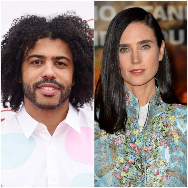 """image: Shutterstock, edited by Teresa Jusino Daveed Diggs Jennifer Connelly """"Snowpiercer"""""""