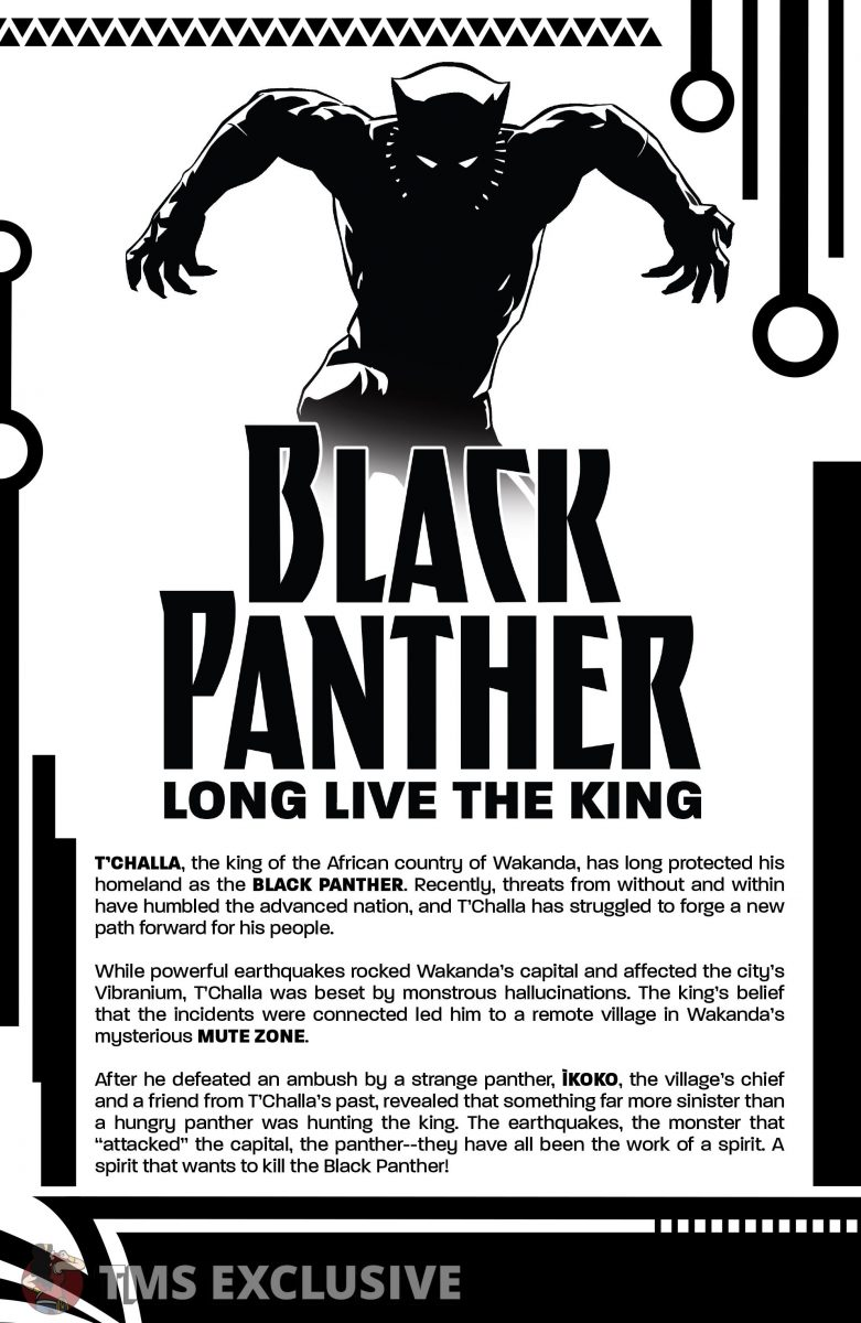image: Marvel Comics/Comixology Black Panther Long Live the King #5 - Preview 2 Nnedi Okorafor Andre Araujo Marvel