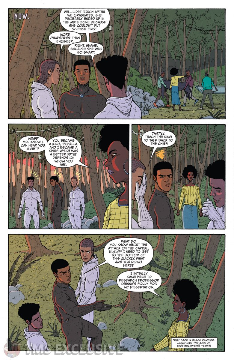 image: Marvel Comics/Comixology Black Panther Long Live the King #5 - Preview 4 Nnedi Okorafor Andre Araujo Marvel