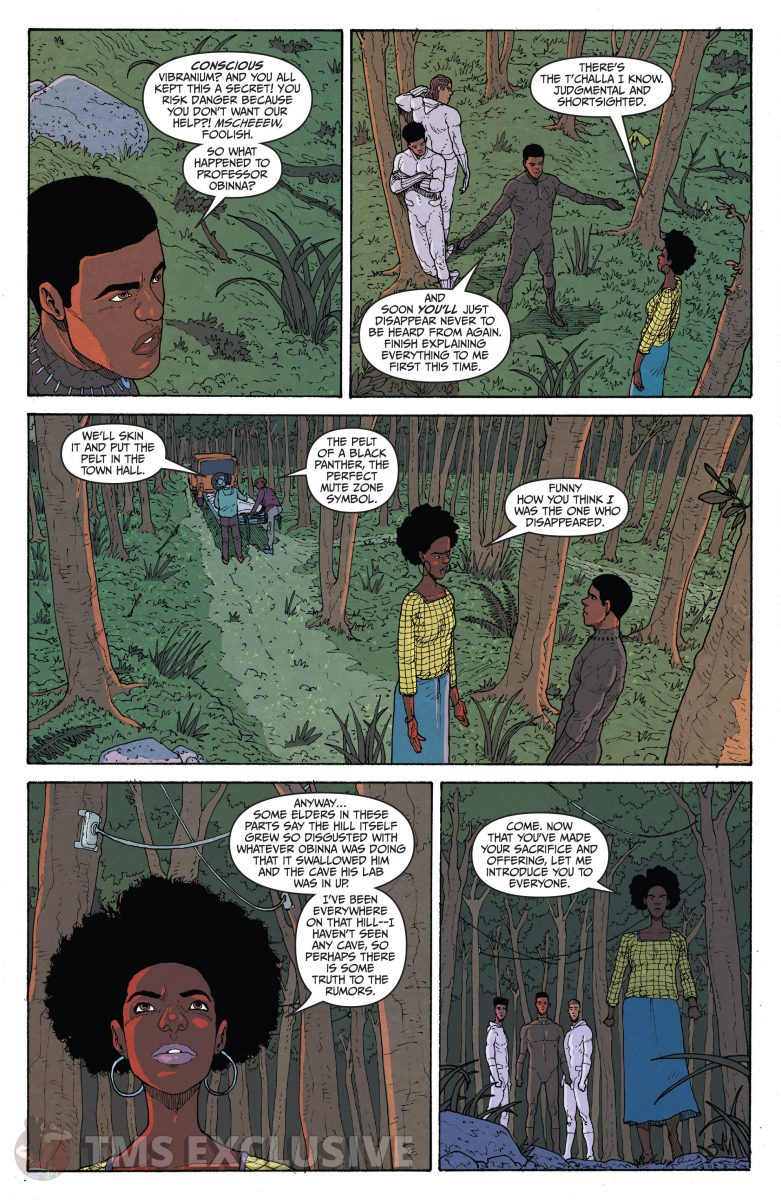 image: Marvel Comics/Comixology Black Panther Long Live the King #5 - Preview 7 Nnedi Okorafor Andre Araujo Marvel