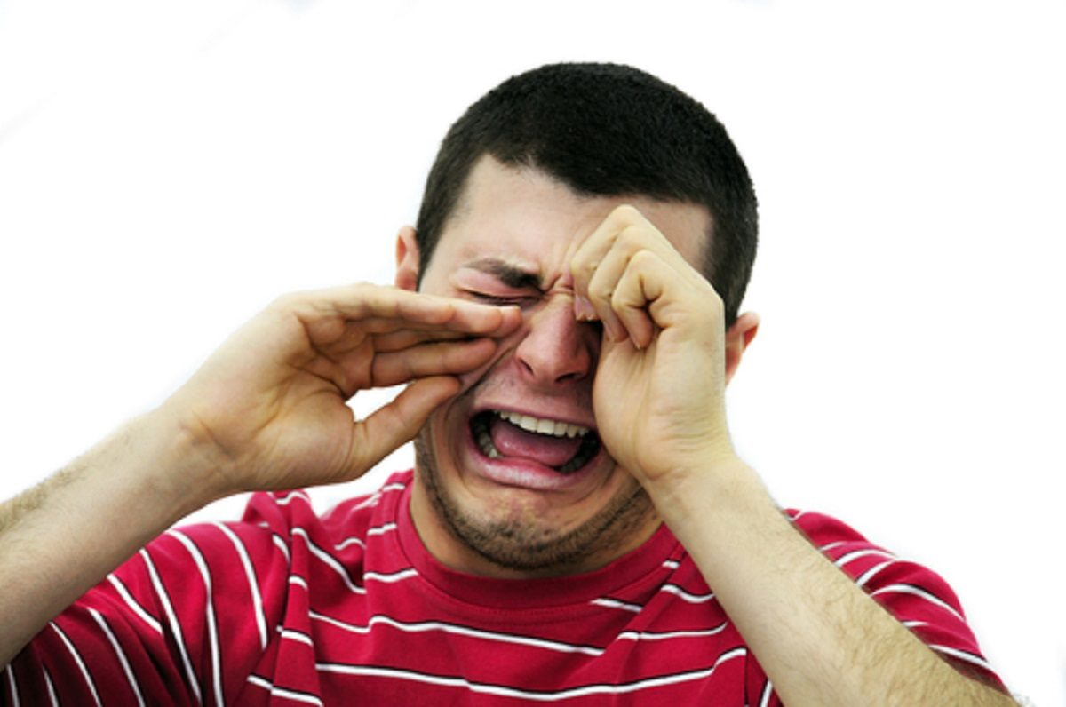 image: Shutterstock Crying Angry Man Shutterstock Stock Photo