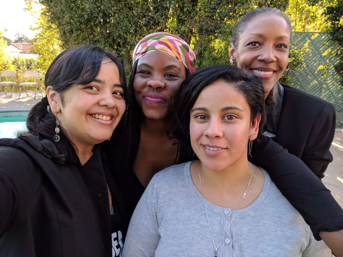 Teresa Jusino and guests at the Women of Color UNITE event.
