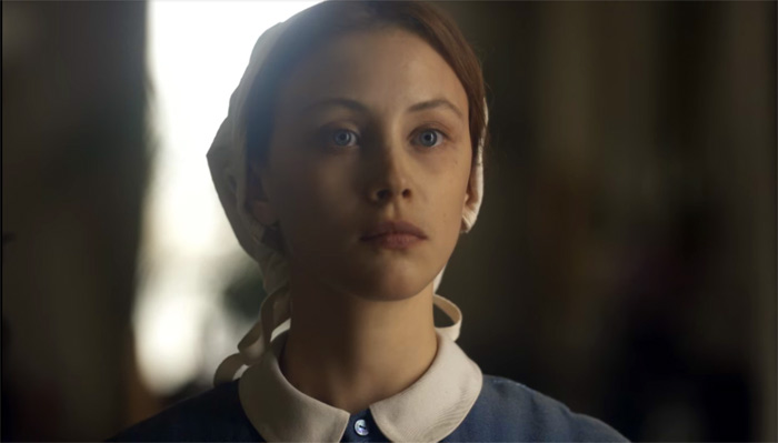Sarah Gadon as Grace Marks in Netflix's 'Alias Grace'