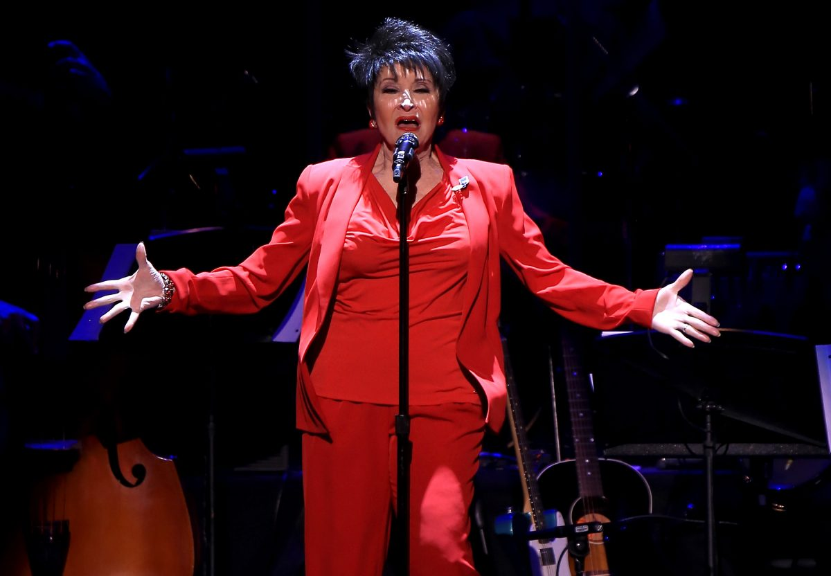 NEW YORK, NY - SEPTEMBER 12: Chita Rivera performs onstage at the 2nd Annual Voices For The Voiceless: Stars For Foster Kids Benefit at the Al Hirschfeld Theatre on September 12, 2016 in New York City.