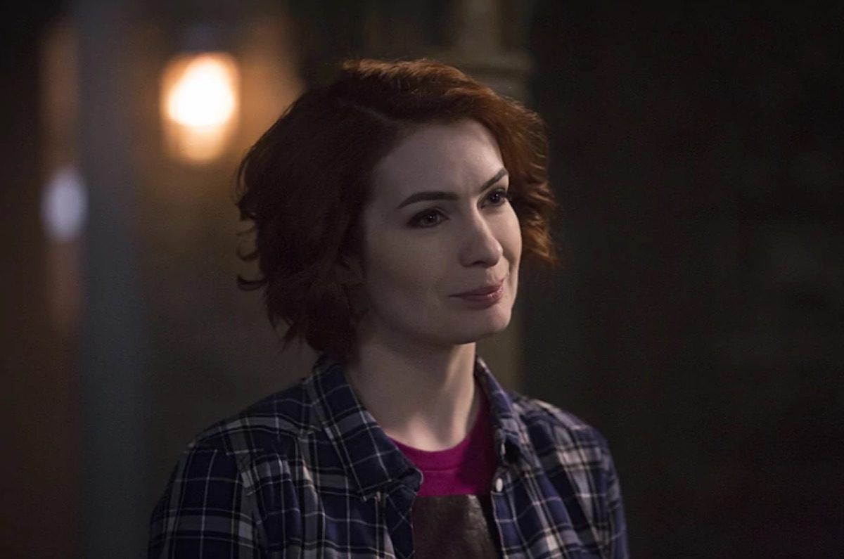 Felicia Day as Charlie on The CW's Supernatural