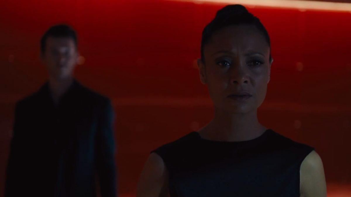 Thandie Newton as Maeve on HBO's Westworld