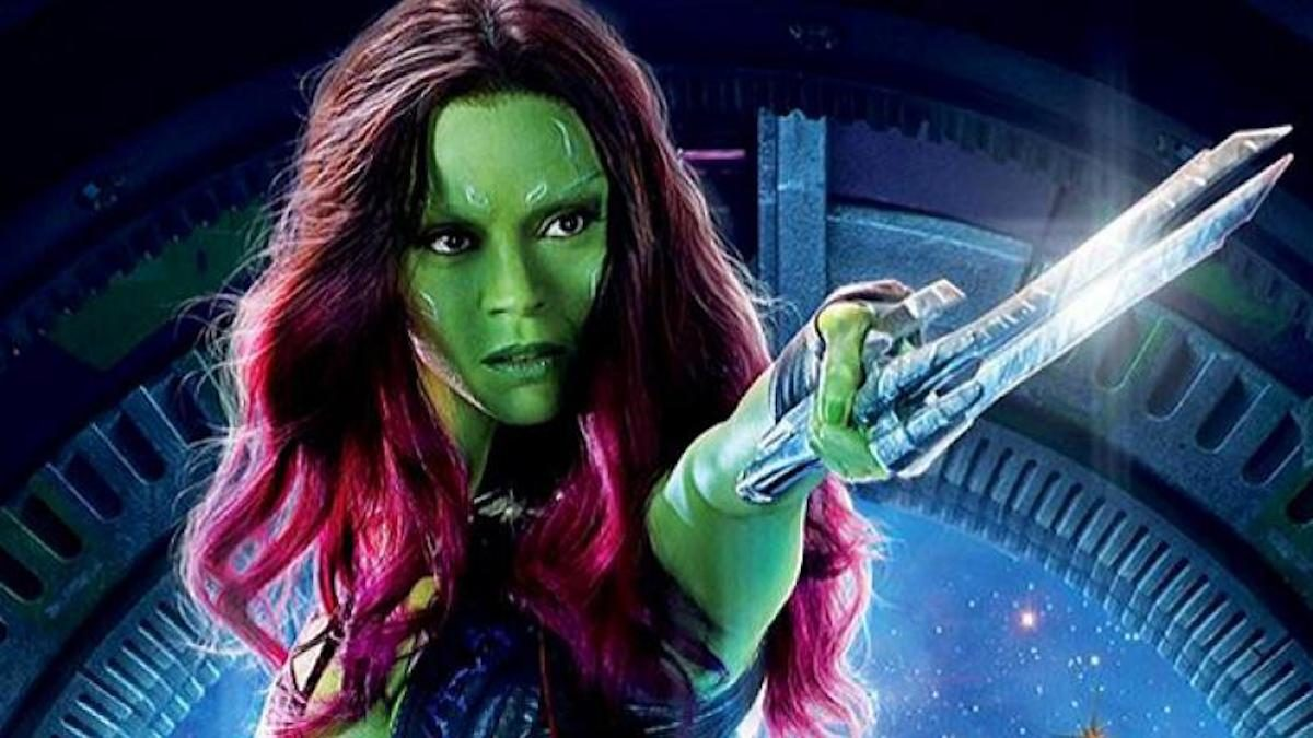 Gamora Guardians of the Galaxy poster