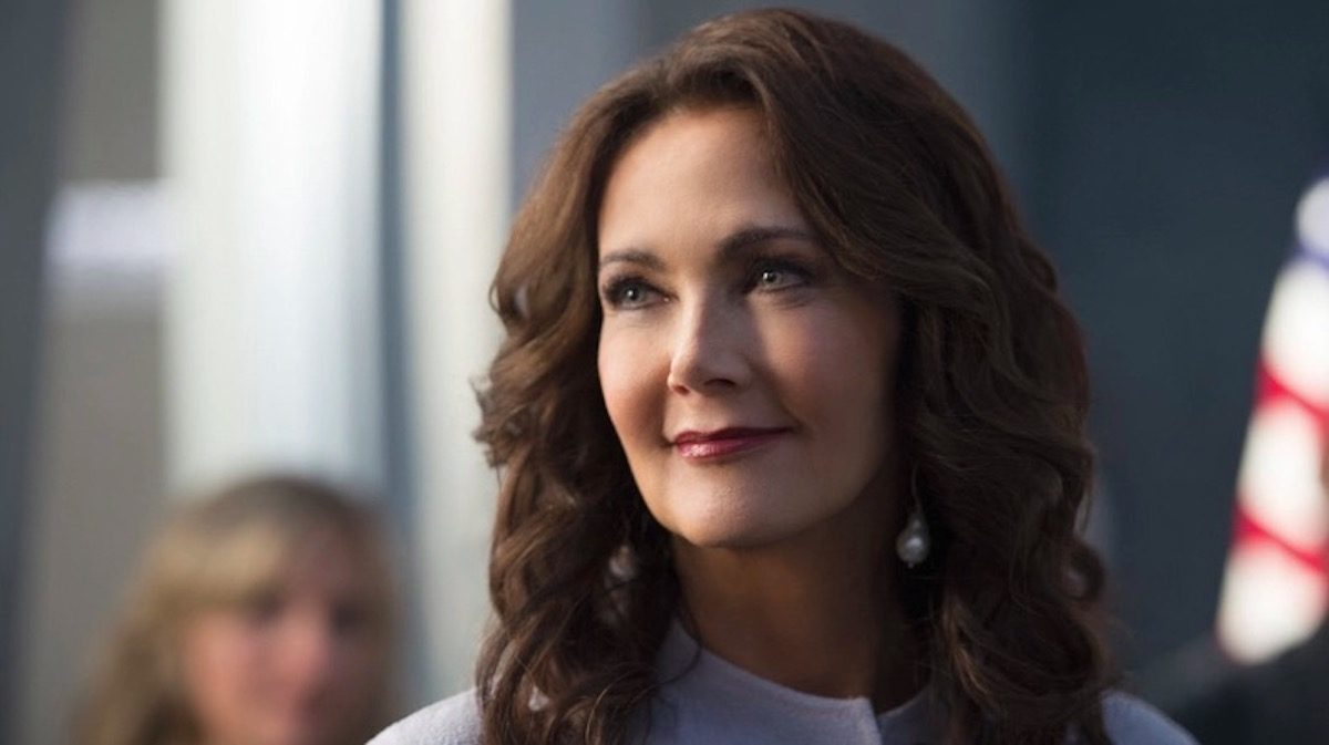 Lynda Carter as President Olivia Marsdin on The CW's Supergirl