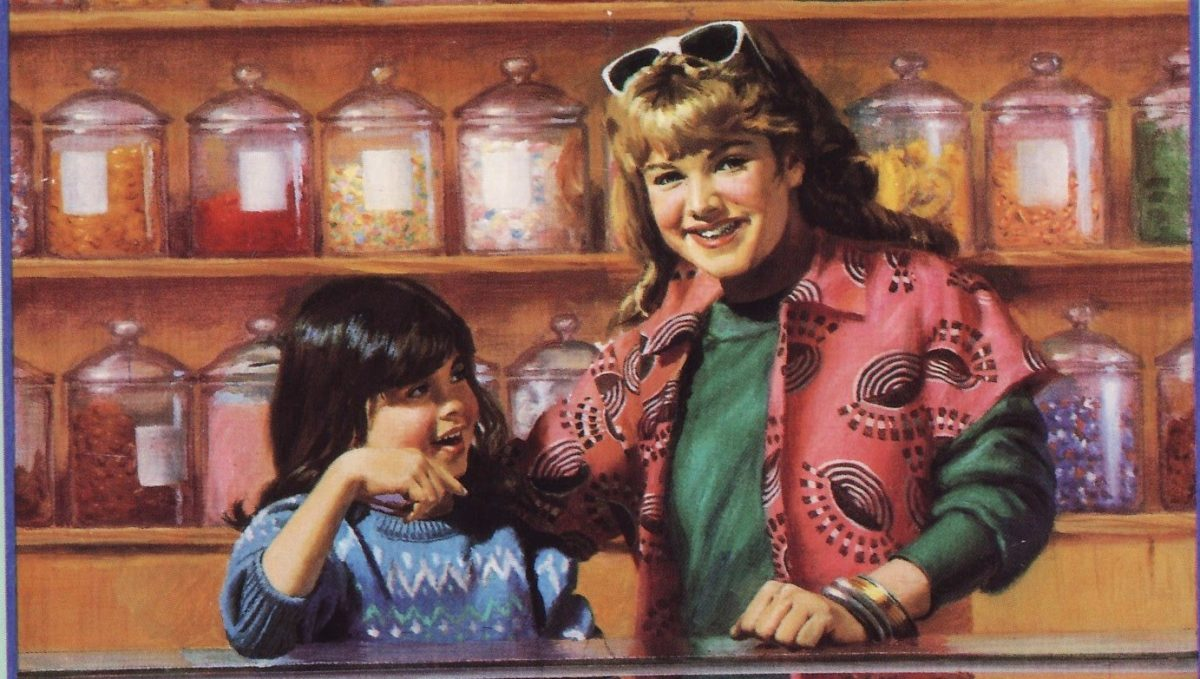 """The cover of """"The Truth About Stacey"""" - Baby-Sitters Club #3 by Ann M. Martin"""