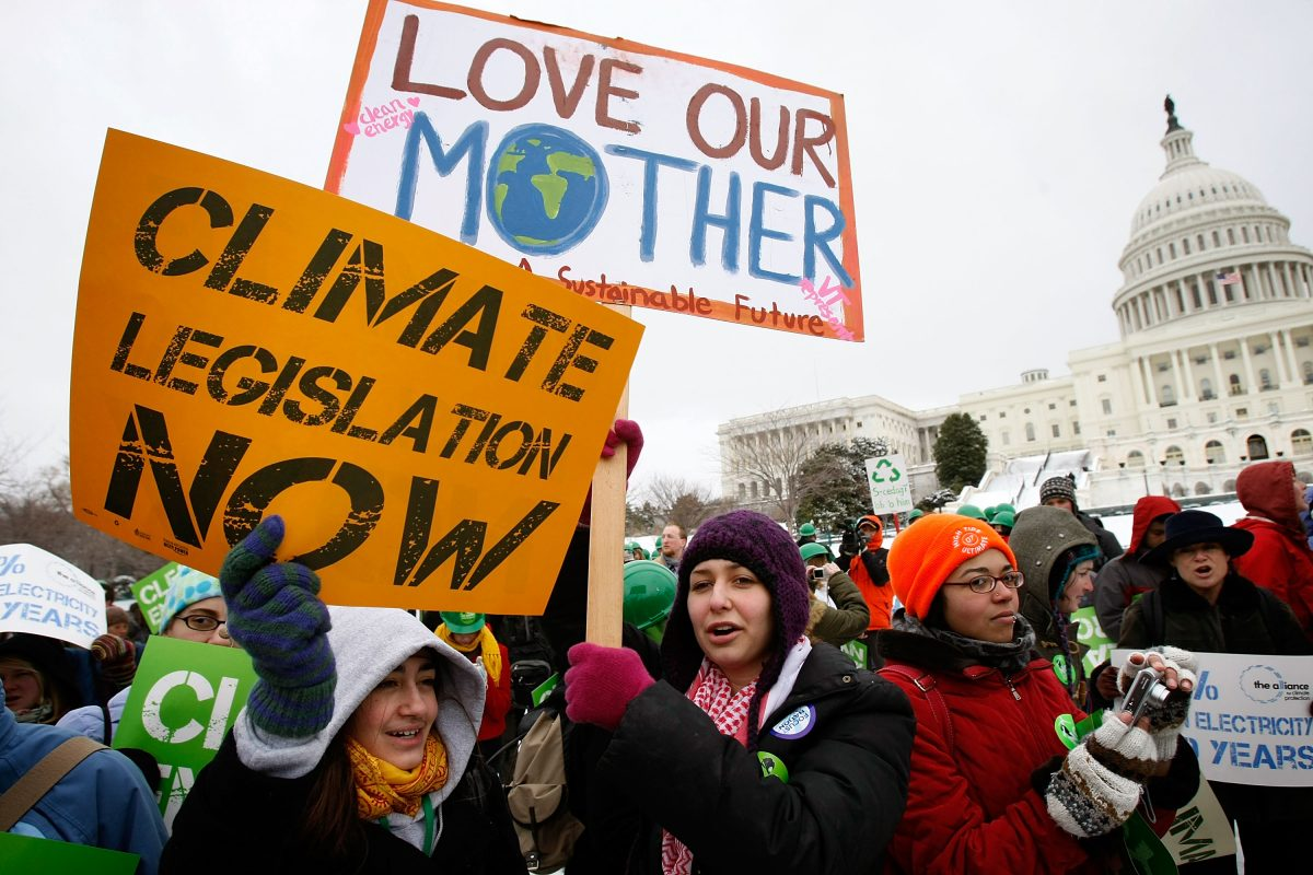 Youth Rally For Change In Energy, Climate And Economic Policy
